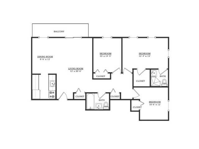 Copper Beech Parkway Plaza Floor Plan 6